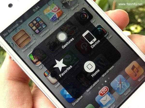 ตั้งค่า iPhone 4S ให้เปิดการใช้งาน Assistive Touch ถนอมปุ่ม Home สุดรัก