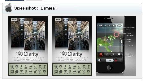 App Protography (แอพฯตกแต่งภาพ) iOS : Camera+