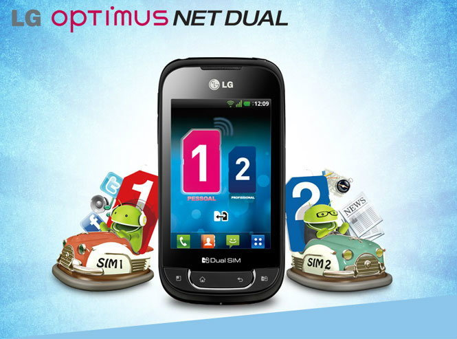 Review: LG Optimus Net Dual -- Android 2 SIM Standby