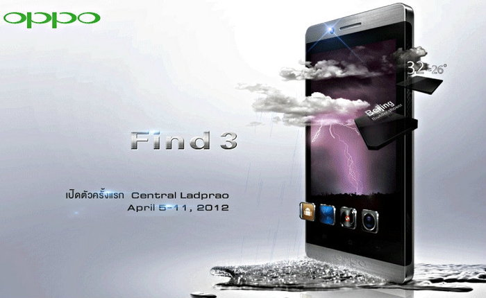 OPPO Find3 opening