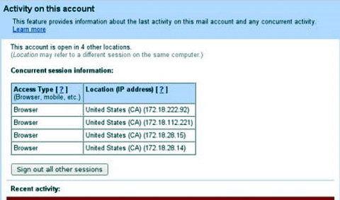 Gmail เตือนผู้ใช้หากมีใครพยายามแฮค!!!