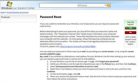 Tip: ช่วยด้วย!!! โดนขโมยบัญชีผู้ใช้ Hotmail ทำยังไงดีคะ?