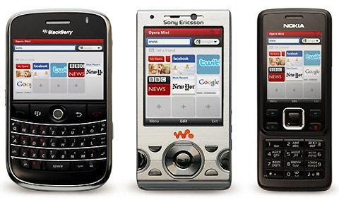 Opera Mini เกิดแล้วใน iPhone