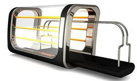 ที่ปิงขนมปังสุดไฮเทค กับ Transparent Toaster