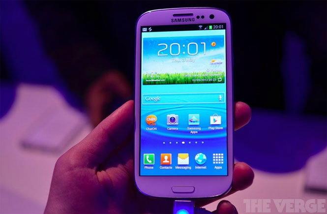Samsung Galaxy S III สเปคจัดหนัก วางขาย 29 พ.ค.