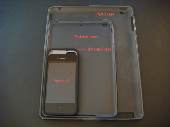 เทียบไซต์กันไปให้ชัดๆเลย กับตระกูล i (Phone+Pad)