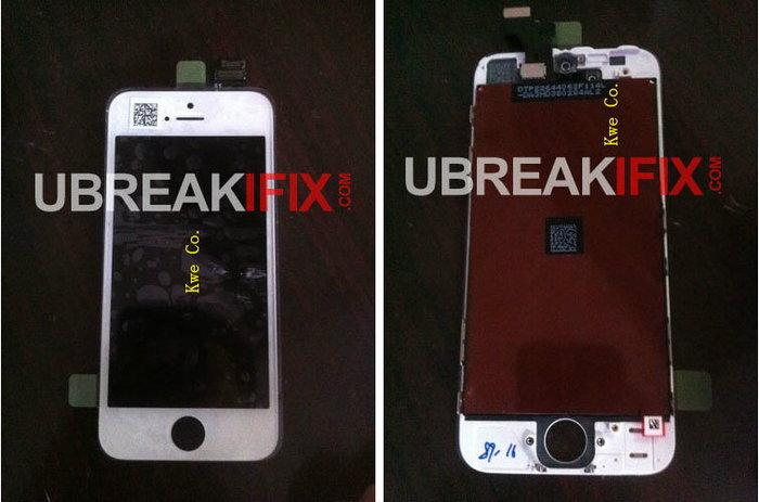 หลุดอีกแล้ว แผงวงจรด้านหน้าสีขาว iPhone รุ่นใหม่