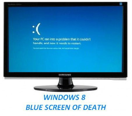 มารู้จัก Blue Screen of Death ใน Windows 8 กัน