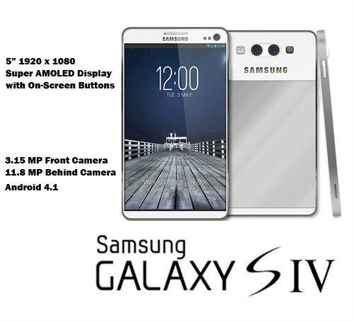 ลืออีก !! Galaxy S4 มาพร้อมจอขนาด 5 นิ้ว Super AMOLED