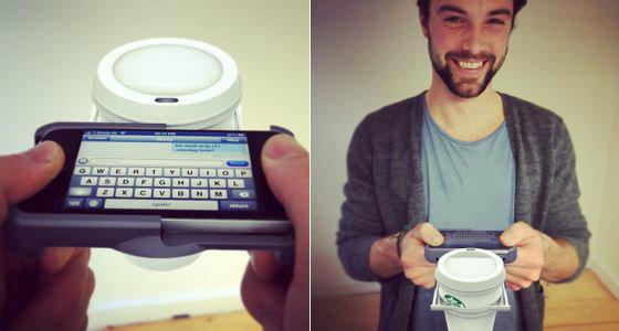 แชท iPhone ถือถ้วยกาแฟด้วยทำได้ปะ?