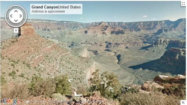 Google Maps เพิ่มภาพถ่าย street view ของแกรนด์แคนยอน