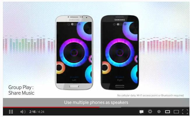 ฟีเจอร์ใหม่ทั้งหมด Samsung Galaxy S4 (คลิป)