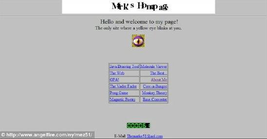"""ฮือฮา เผยเว็บไซต์แรกของมาร์ค ซัคเคอร์เบิร์ก ต้นกำเนิดเกิดไอเดีย""""เฟซบุ๊ค""""(ชมภาพ)"""