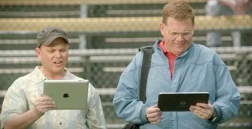 Microsoft ส่งโฆษณากัดจิก iPad อีกแล้ว