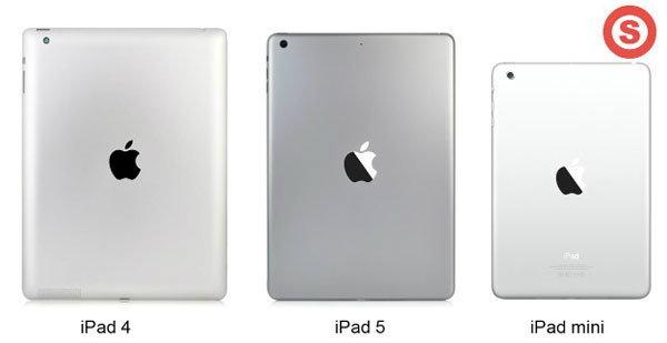 เผยคลิปวีดีโอ เปรียบเทียบขนาด iPad 4 vs iPad 5 ต่างกันอย่างไร ?