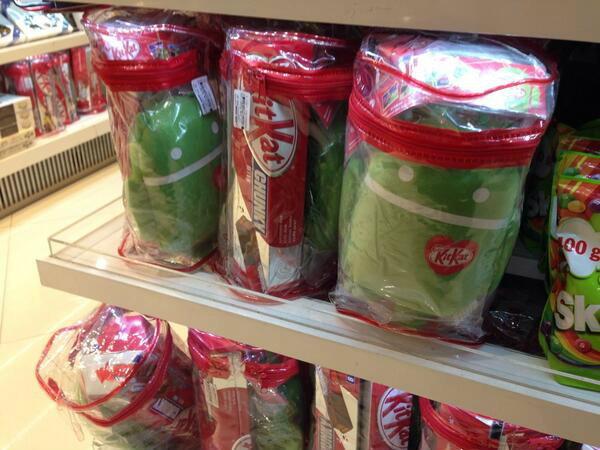มาแล้ว KitKat 4.4 ขายพร้อมตุ๊กตาแอนดรอยด์ ที่สนามบินสุวรรณภูมิ