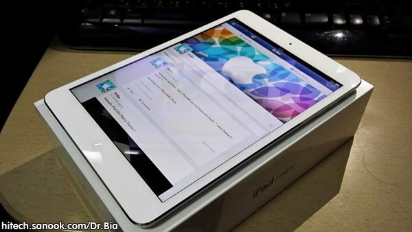 รีวิว iPad Mini Retina Display เจ้าตัวเล็ก 64 Bit แรงทะลุโลก