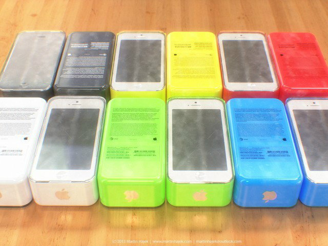 อั้ยย่ะ เผยภาพคอนเซปท์ iPhone 5C ใหม่ล่าสุด!!