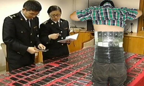 แปลกแต่จริง! วิธีลักลอบขน iPhone ในจีน!!