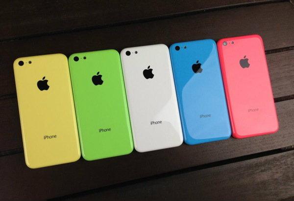 ภาพหลุด ฝาหลัง iPhone 5C (ไอโฟน 5C) ครบ 5 สี