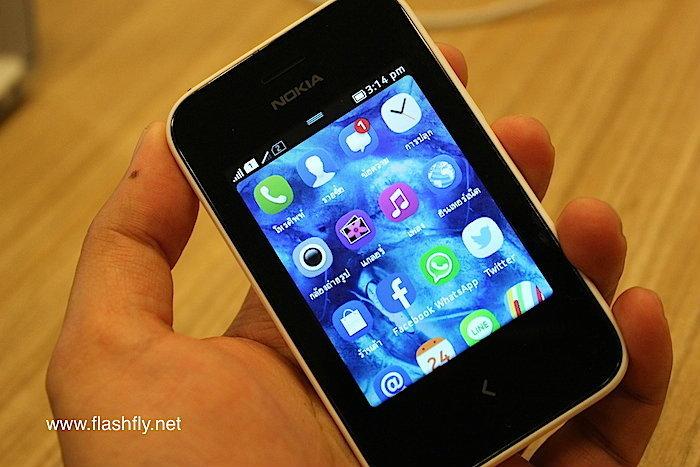พรีวิว Nokia Asha 230 น้องใหม่ล่าสุดในตระกูล Asha ราคาเพียง 2,000 บ. (ชมคลิป)