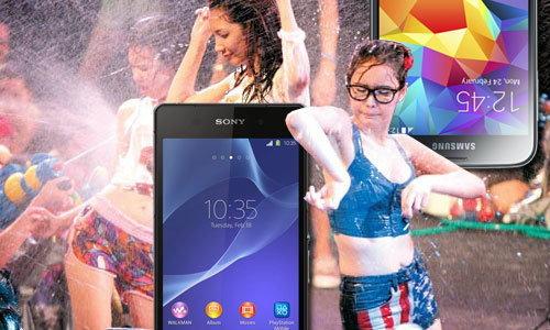 สาดมา!!! สมาร์ทโฟนกันน้ำ เล่นสงกรานต์ไร้กังวล!