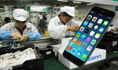 หลุด!!! ชิ้นส่วน iPhone 6 จากโรงงานผลิตในจีน!