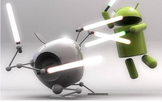 สงครามระหว่าง iOS และ Android : เมื่อแอพพลิเคชั่นไม่มีความแตกต่างอีกต่อไป!