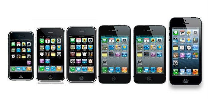 ย้อนอดีต iPhone อายุครบ 7 ขวบกับทายาททั้ง 8 รุ่น