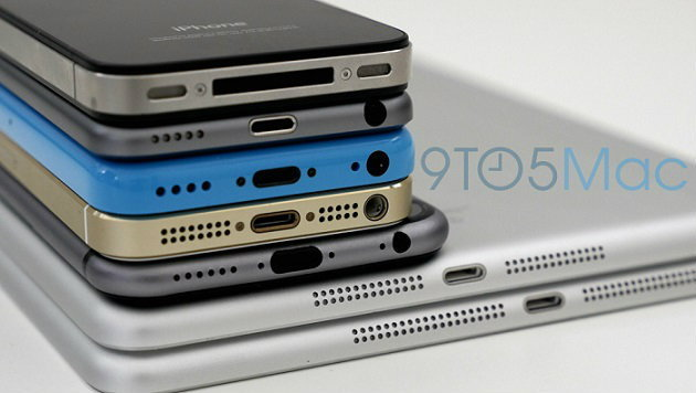 เอาอีกแล้ว!! นำ iPhone 6 มาเทียบกันทั้งตระกูล Apple