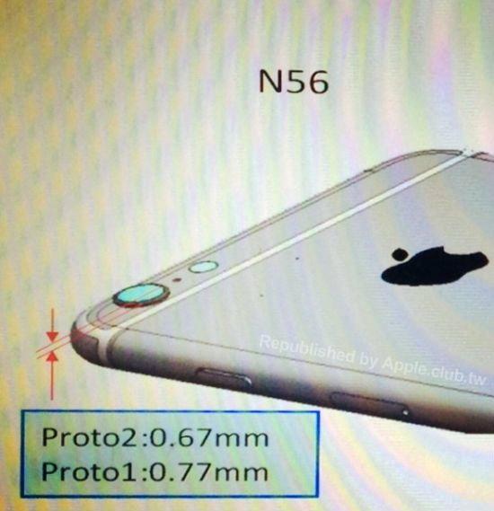"""พบภาพใหม่อ้างเป็น """"พิมพ์เขียว iPhone 6"""""""