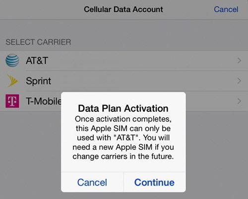 Apple SIM อาจไม่เวิร์ค เมื่อบางเครือข่ายในสหรัฐฯ ขอเมิน !!