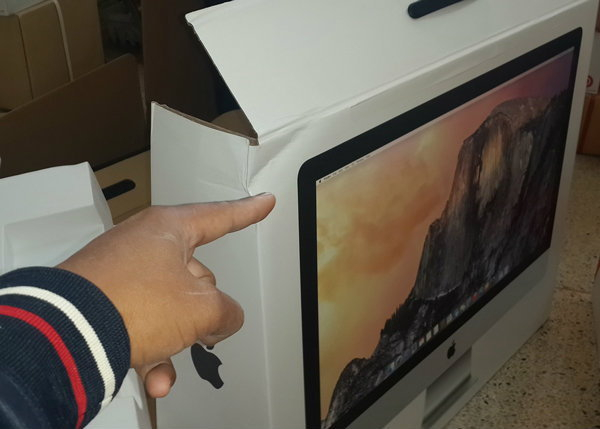 รับน๊าาาา! สั่ง iMac จากเว็บ Apple มาไทย แต่ดันโดนส่งให้ไปรษณีย์ไทยส่งของต่อ!