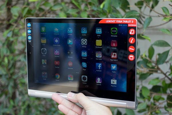 Review แท็บเล็ต Multi-Mode Lenovo Yoga Tablet 2 10.1 นิ้ว