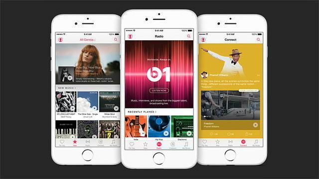 Apple Music เปิดตัวแล้ว เดือนละ 9.99 เหรียญฟังได้ทั้ง iTunes, รองรับพีซี และแอนดรอยด์