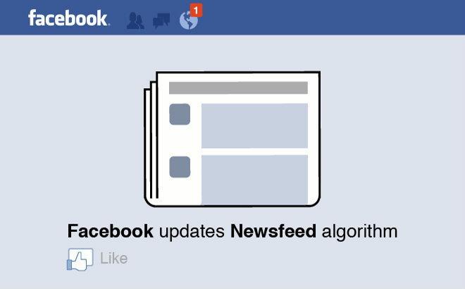 อีกครั้ง! กับการปรับอัลกอริทึมใหม่ของ Facebook
