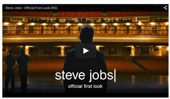 ตัวอย่างหนัง  Steve Jobs อย่างเป็นทางการมาแล้ว
