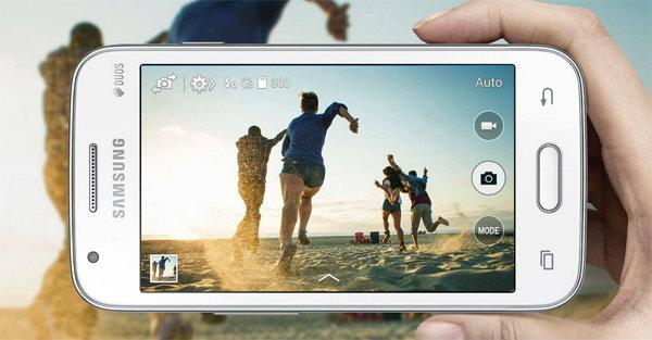 เปิดตัวน้องเล็กรุ่นจิ๋ว Galaxy V Plus  สมาร์ทโฟนเบาๆ
