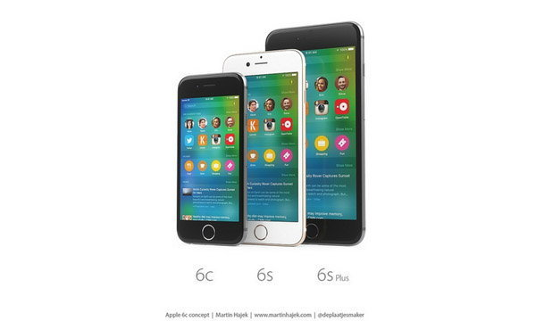เผยภาพ Render iPhone 6c, iPhone 6s, iPhone 6s Plus ที่งามหยดสวยจริงจัง
