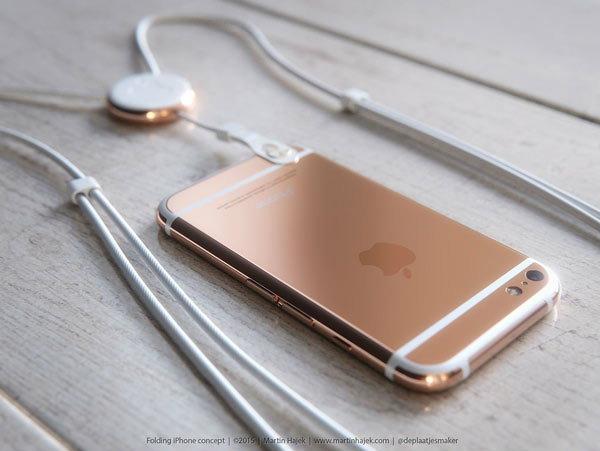 สวยไหมภาพคอนเซ็ปท์ iPhone 6 แบบฝาพับ (งานมโน)
