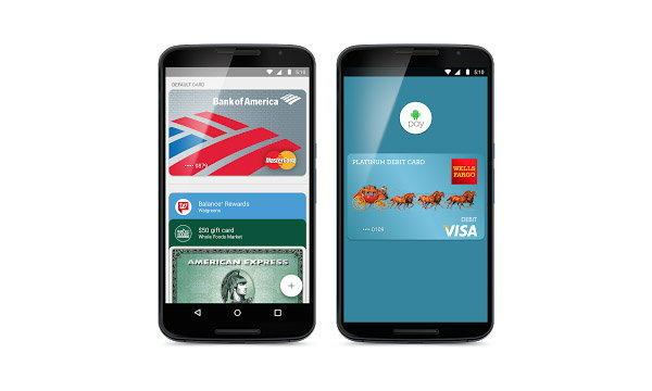 Android Pay บริการจ่ายเงินแบบแตะผ่าน android os เปิดให้บริการแล้วในสหรัฐอเมริกา