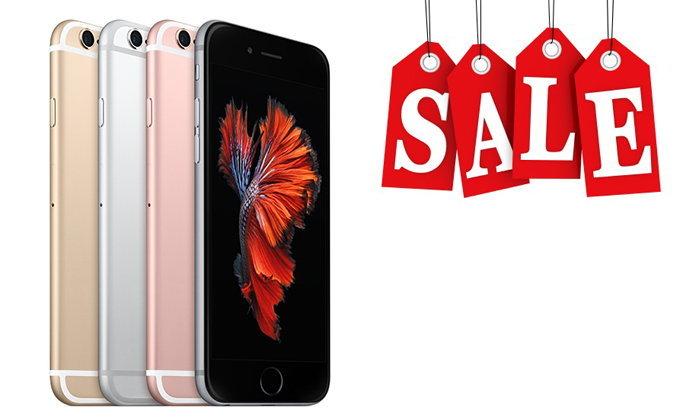 ส่องโปรโมชั่นลดราคาเทกระจาด iPhone 6s ลดแรงถึง 70%