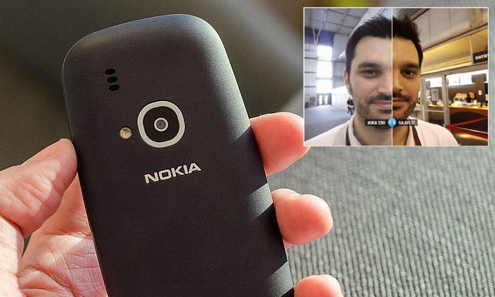 เอาฮา! เมื่อ Nokia 3310 รุ่นใหม่กล้องดียิ่งกว่า Samsung Galaxy S7 edge