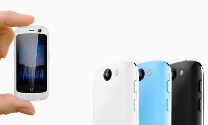 มารู้จัก Jelly มือถือที่ใช้งาน Android 7.0 Nougat ที่เล็กที่สุดเท่าที่เคยสร้างมา
