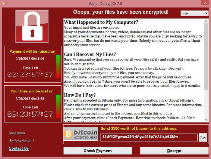 ด่วน! WannaCry แรง ร้าย กระจายทั่วโลก เตือนถ้าไม่อยากร้องไห้ ต้องรีบหยุดมัน!