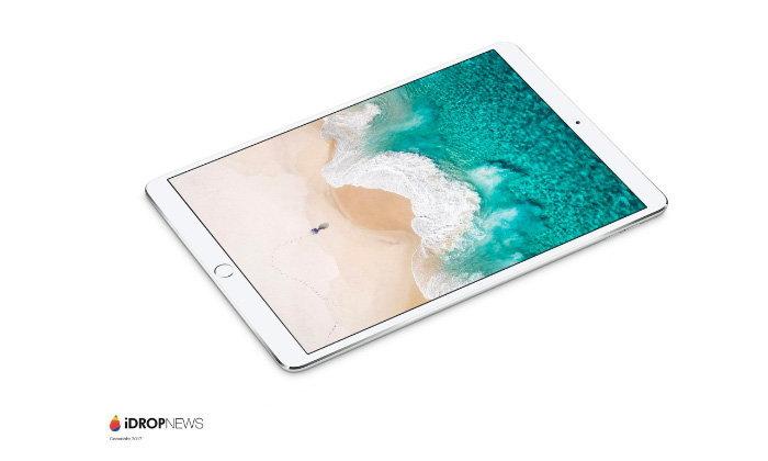 หลุดภาพ Render ของ iPad Pro 10.5 และ 12.9 นิ้ว พร้อมพื้นผิวแบบใหม่