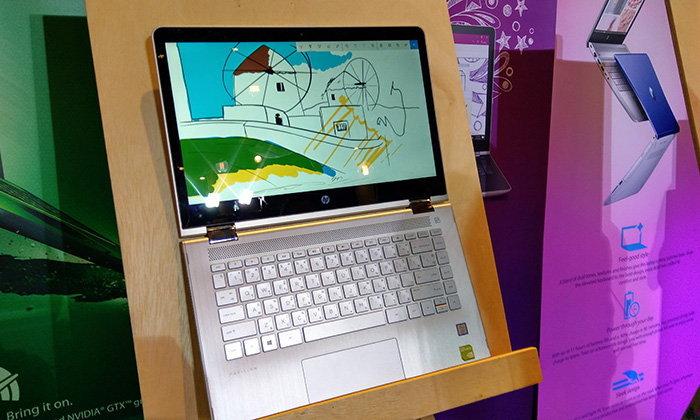 พาสัมผัสคอมพิวเตอร์ HP Pavilion X360 เครื่องเล็กพกสะดวกเพื่อคนมีจินตนาการ