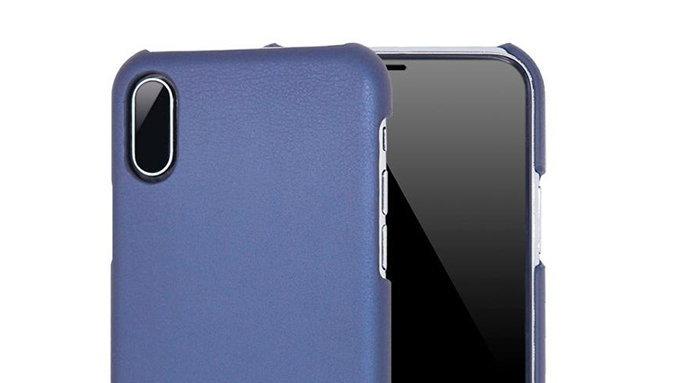 ภาพเรนเดอร์เคส iPhone 8 เผยให้เห็นกล้องคู่หลังแนวตั้ง และไม่มีปุ่มโฮม