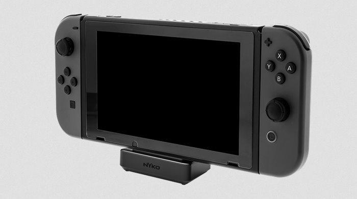 หมดปัญหาเครื่อง Nintendo Switch เป็นรอยด้วยแท่น Dock จาก nyko