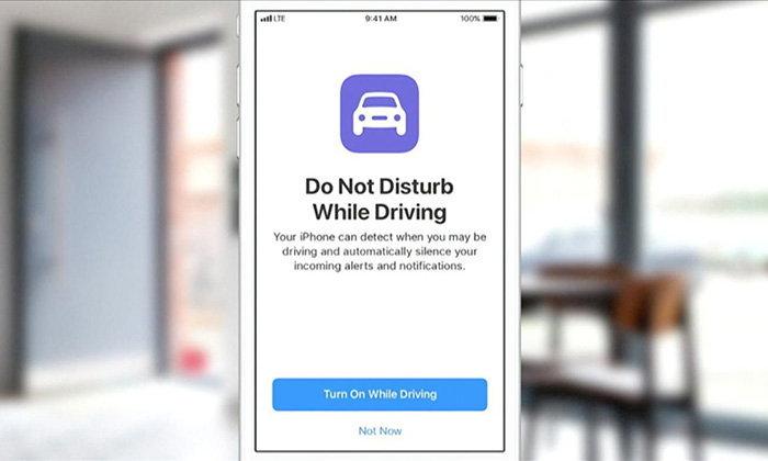 ดูวิธีเปิดฟีเจอร์ห้ามรบกวน เมื่อคุณขับรถบน iOS11 ที่ใครใช้ iPhone ควรรู้ไว้